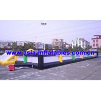 Wholesale Portable Large Inflatable Soccer Pitch For Commercial Use , Inflatable Soccer Field from china suppliers