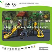 Wholesale Chileren Train Tree House Series Outdoor Playground Equipment (KQ10056A) from china suppliers