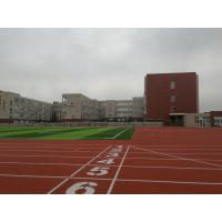 Lower Gravity EPDM Running Track , Anti Abrasion Commercial Synthetic Athletic Track
