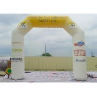 Wholesale Waterproof Custom Inflatable Arch -30 To 70 °C Applicable Temperature from china suppliers