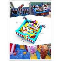Wholesale Qiqi inflatable icecream toddler bouncy playground from china suppliers