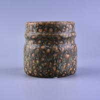 Wholesale Transmutation Glaze Ceramic Candle Jar from china suppliers