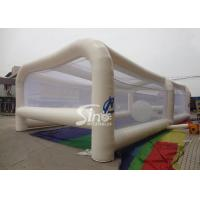 Wholesale Adults energy challenge running inflatable obstacle tent with transparent balls inside from china suppliers