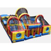 Buy cheap adrenaline rush obstacle course , inflatable obstacle course , inflatable from wholesalers