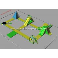 Buy cheap Huge Inflatable Water Park, Inflatable Aqua Park Floating On Lake from wholesalers