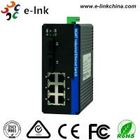 Wholesale Managed Industrial Ethernet Media Converter with 2 100Base-FX ports and 6 10 / 100Base-T(X) ports from china suppliers
