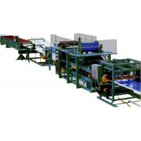 Wholesale Colored Steel Continuous Sandwich Panel Production Line With 5 Tons Capacity from china suppliers
