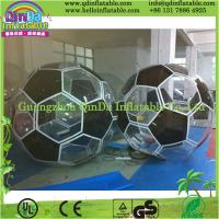 China QD Giant bubble jumbo water ball inflatable water walking ball rental price on sale