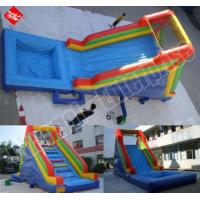 Wholesale Inflatable Water Slides - Blue from china suppliers