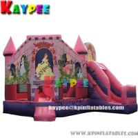 Wholesale Princess combo ,inflatable combo game,princess bouncer with slide obstacle KCB047 from china suppliers