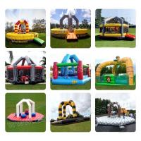 Funny PVC Inflatable Demolition Games Fire Retard ,Inflatable Wrecking Ball For Team