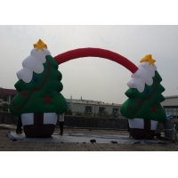 Wholesale Party Christmas Tree Decoration Inflatable Arches Event Snowflake from china suppliers