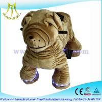 Wholesale Hansel high qulity battery operated plush animal electronic rides from china suppliers