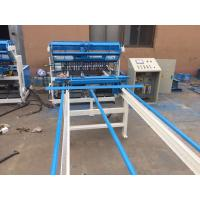 Wholesale High Productivity Fence Mesh Welding Machine 2.0 - 6.0mm Wire Diameter CE Approved from china suppliers