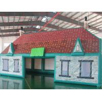 Wholesale Strong Simple Frame Inflatable Pub Bouncy Castle With Door And Windows Shaped from china suppliers