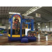 Wholesale Justice League Teen Titans Inflatable Jumping Castle For Kids Bouncy Castle from china suppliers