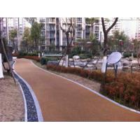 Wholesale Noise Absorbting EPDM Rubber Jogging Track Concrete / Asphalt Foundation For Public Areas from china suppliers