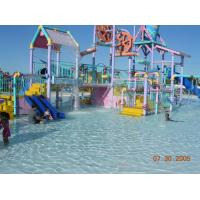 Wholesale Kids Aquaplay Water Playground Equipment With Water Slides / Valves / Water Cannons from china suppliers