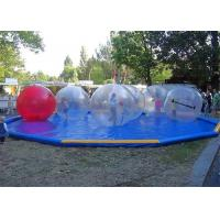 Wholesale Water Play Inflatable Water Ball / Inflatable Water Walking Ball 0.8mm /1.0mm PVC from china suppliers