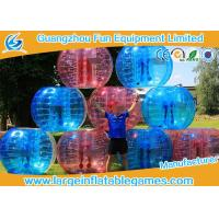 Quality Soft Handle / Safe Belt Inflatable Bumper Ball Transparent SGS CE Certification for sale