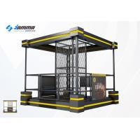 Black Yellow Virtual Shooting Simulator Theme Park Equipment With 2 Handles