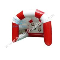 Wholesale Inflatable football goal gate, football shooting from china suppliers