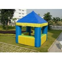 Outdoor PVC Inflatable Cube Tent Colorful Large Square With Rooms