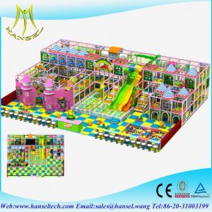 Wholesale Hansel soft foam indoor playground kid's zone indoor soft playground equipment from china suppliers