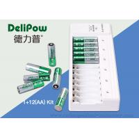 Wholesale NI-MH AA AAA Battery Charger , 2800mAh Rechargeable Battery Set from china suppliers
