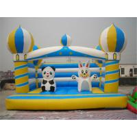 Wholesale Personalized Jump Bounce House , 6x6 Bounce House For Big Kids Scratch Resistant from china suppliers