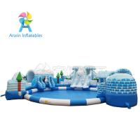 Wholesale China Price Customized 0.55MM PVC Material Giant Outdoor Land Commercial Kids Inflatable Bear Water Park For Sale from china suppliers