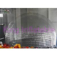 Wholesale Dome Custom Inflatable Bubble Tent , Overall Transparent Inflatable Yard Tent from china suppliers
