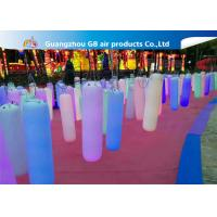 Wholesale Waterproof Inflatable Holiday Decorations / Inflatable Post With LED Light from china suppliers