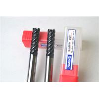 Wholesale 6 Flue / 8 Flute End Mill Drill Bits , Cutting Tools For Milling Machine Tool Bits from china suppliers