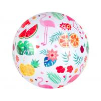 Wholesale Custom Printed PVC Toy Ball Inflatable Beach Ball Bouncing 18cm - 30cm from china suppliers