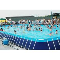 Buy cheap Hotsale 0.9MM PVC Outdoor Giant Above Ground Rectangle Water Park Type Metal from wholesalers