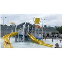Wholesale Water Park 6mm - 8mm Fiberglass Resort Spray Park Equipment For Children / Adults from china suppliers