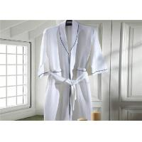 Wholesale Eco Friendly Waffle Hotel Towel Set / Kimono Collar Soft Cotton Bathrobe from china suppliers