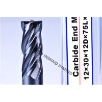 Wholesale AlTiN Coating High Speed Steel End Mill 16mm / 18mm / 20mm 2Flute 4 Flute M42 Co8% from china suppliers