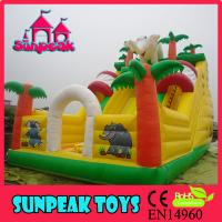 Wholesale SL-252B Inflatable Elephants Inflatable Dry Slide from china suppliers