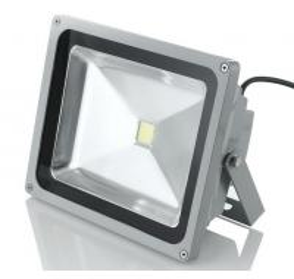 Quality 50W COB LED Flood Light Outdoor , IP65 Floodlight 120 Degree Beam Angle for sale