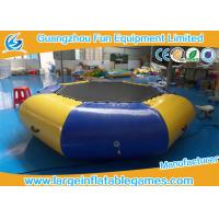 Airtight Sealed Inflatable Water Park Games 3 Years Warrant Commercial Grade