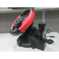 Wholesale Racing Video Game Steering Wheel Foot Pedal Auto Centering For PC X-INPUT P2 P3 from china suppliers
