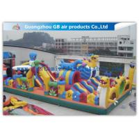 Wholesale Safety Octopus Party Style Inflatable Amusement Park With Slide For Fun Games from china suppliers