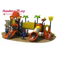 Buy cheap Gym Outdoor Playground Slides Equipment For Residential Area / Kindergarten from wholesalers