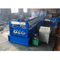 Wholesale Galvanized Type H75 Floor Deck Roll Forming Machine GI Raw Material With 28 Rows from china suppliers