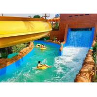 Wholesale Aqua Park / Residential Lazy River Magnificent Outdoor Pool For Holiday Resorts from china suppliers