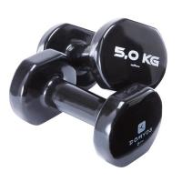 Wholesale Colorful PVC Coating Gym Dumbbells Hand Weights For Total Body Workout from china suppliers