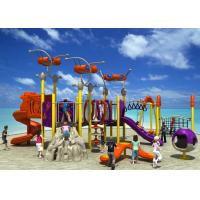 China Fun Park Equipment Kids Outdoor Playground, Theme Park Equipment Plastic Slide on sale