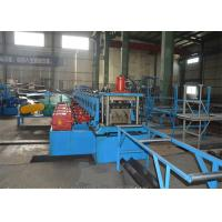 Wholesale 380V Highway Guardrail Roll Forming Machine / Roll Former Machine With Decoiler from china suppliers